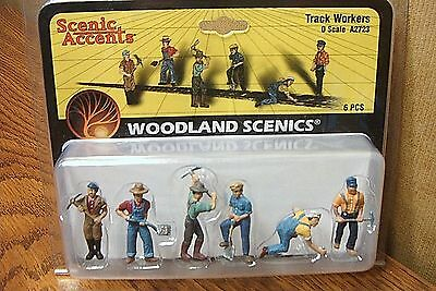 Woodland Scenics Track Workers O Scale Figures
