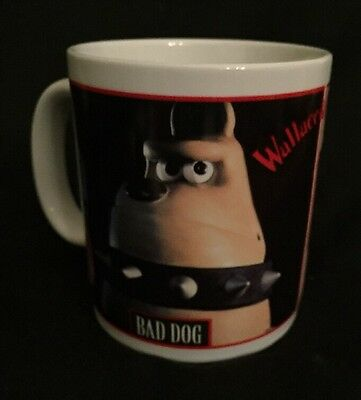 VTG Wallace and Gromit Coffee Mug  1989 Good Dog Bad Dog