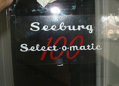 Seeburg  Dome Lid Decal