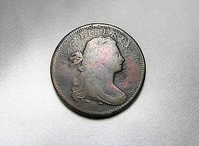 1797 Draped Bust Large Cent Good Details Ab8