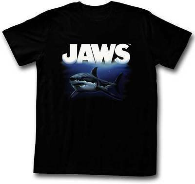 Jaws The Deep Blue Sea Adult T Shirt Great Classic Movie