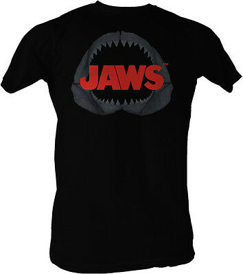 Jaws Shark Jaws Jaws In Shark Jaws Adult T Shirt Great Classic Movie