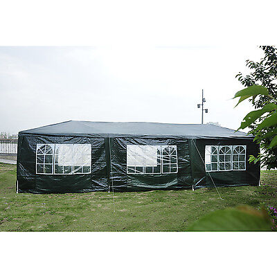 10' x 30' Party Tent Gazebo Wedding Canopy Cater Events Patio Heavy Green
