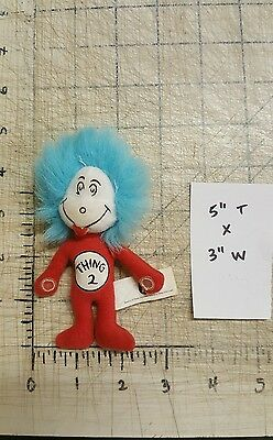 Dr Seuss Cat in the Hat Thing 2 Kelloggs Merchanise Mini Doll Collectible VTG