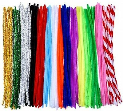 Outus 150 Pieces Pipe Cleaners Chenille Stem Art Craft Pipe Cleaners. 6x300mm