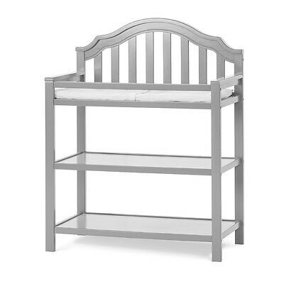Child Craft Penelope Dressing Table - Cool Gray