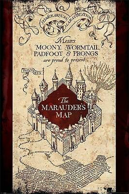 NEW * MARAUDERS MAP * HARRY POTTER  MAXI POSTER 62cm X 91cm  ...no62