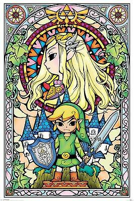 NEW * ZELDA * LEGEND OF ZELDA MAXI POSTER 62cm X 91cm  ...no40