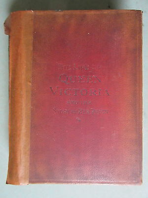 Antique 1901 Book Life of Queen Victoria Story of Her Reign