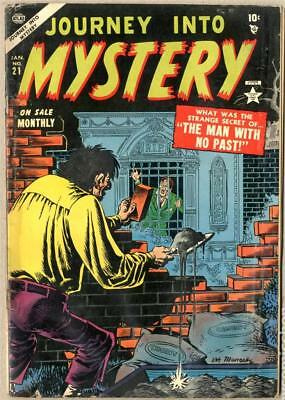 MARVEL Comics 3.5 Journey into mystery #21 1953 Golden VG- Man with no past