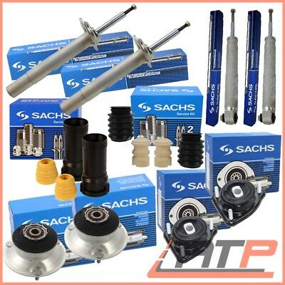 4X Sachs Shock Absorber Gas+Dust Cover Front+ Rear Bmw 5 Series E39