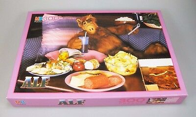 ALF Puzzle MB 300 Teile Art.-Nr. 3706.23 RAR 1988 Alien Productions Vintage