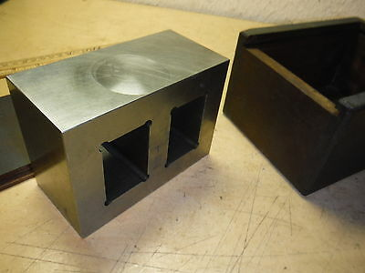 Small Steel Machinist Box Parallel With Case Toolmaker Jig Fixture Tooling