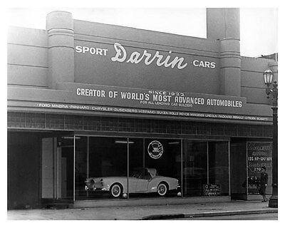 1955 Kaiser Darrin Dealer Showroom ORIGINAL Factory Photo oub4137