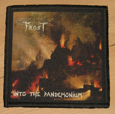 """CELTIC FROST """"INTO THE PANDEMONIUM"""" silk screen PATCH"""