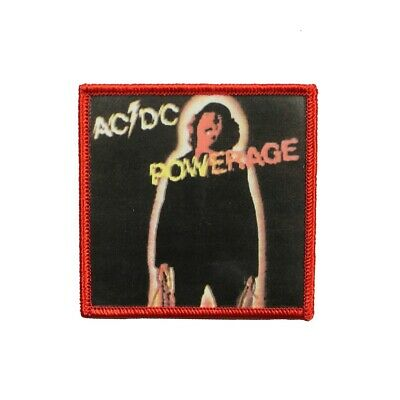AC/DC ACDC Powerage Album Cover Art Hard Rock Band Music Iron On Applique Patch
