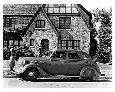 1936 Nash DeLuxe 400 Chassis ORIGINAL Factory Photo oub4395