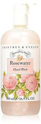 Crabtree & Evelyn Rosewater Sapone mani unisex 500 ml | cod. Q291014 IT