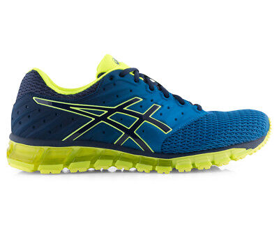 ASICS Men's GEL-Quantum 180 2 Shoe - Imperial/Safety Yellow/Indigo Blue