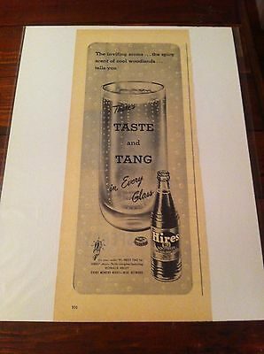 Vintage 1946 Hires Root Beer Inviting Aroma ad