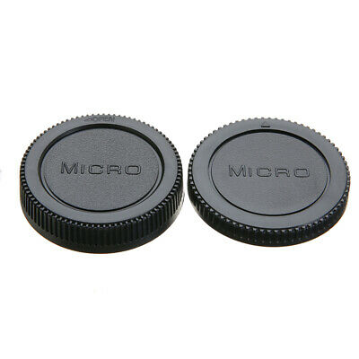 Camera Body & Lens Rear Cap Cover Protector Case For Olympus Micro 4/3 M4/3