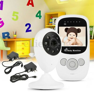Wireless Digital Video Audio Baby Monitor Home Security Camera Night Vision AU