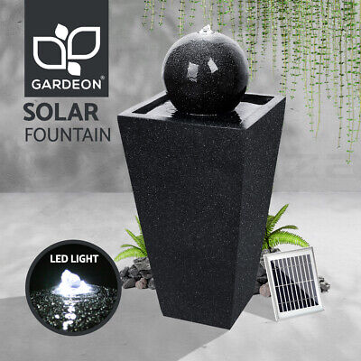 5W Solar Powered Fountain Outdoor Fountains Submersible Water Pump Pond Garden