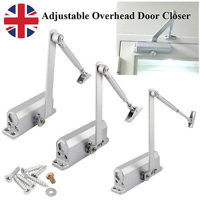 25~80KG Heavy Duty Fire Rated Overhead Door Closers Opener Soft Close Adjustable