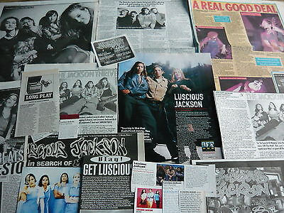 Luscious Jackson - Magazine Cuttings Collection (Ref T4)