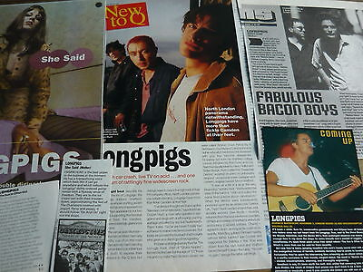 Longpigs - Magazine Cuttings Collection (Ref Z4)