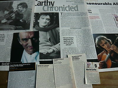 Martin Carthy  - Magazine Cuttings Collection (Ref Z9)