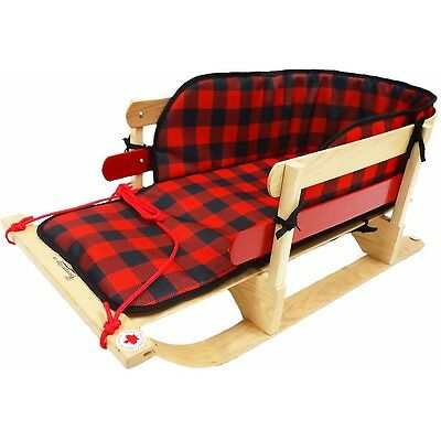 Grizzly XL Sleigh With Plaid Pad
