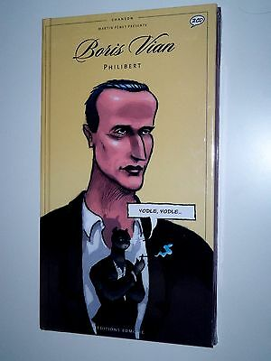 Philibert Boris Vian (2CD audio) + BD / NEUF / Paru chez BD Jazz