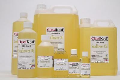 Classikool 100% Pure Natural Sunflower Seed Carrier Oil: Aromatherapy & Massage