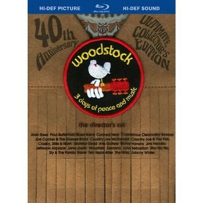 2-Blu-ray box set ~ Woodstock 40th Anniv. Ultimate Director's Cut NEW $64.95