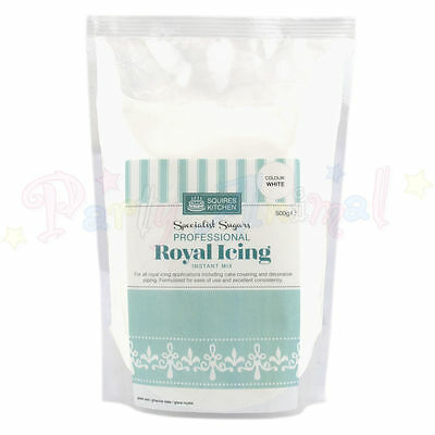 Squires Kitchen - Royal Icing Mix - 500g - Cake Decoration