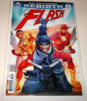 The FLASH # 18  DC Comic   May 2017  NM  VARIANT COVER EDITION.