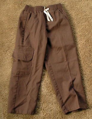 GIRL SCOUTS BROWNIES brown pants size XS MADE IN USA