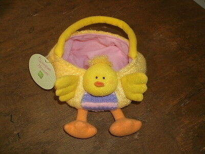 Plush Chick Easter Basket by Russ