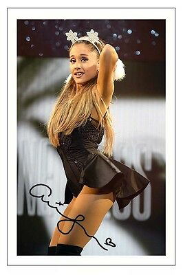 Ariana Grande Signed Photo Print Autograph Dangerous Woman