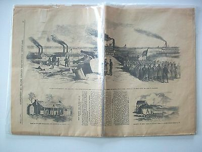 May 3rd 1862 Civil War-Supplement Frank Leslie's Illustrated Newspaper/Pictures