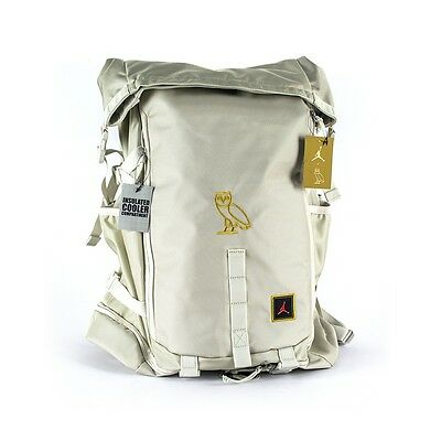 bba7aae7ef71 Nike Air Jordan x OVO Drake Top Loader Jumpman Hiking Backpack White   Gold  BNWT