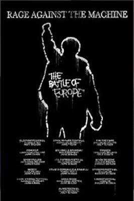 RAGE AGAINST THE MACHINE ~ BATTLE EUROPE 24x36 MUSIC POSTER NEW/ROLLED!