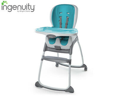 Ingenuity SmartClean Trio 3-in-1 High Chair - Aqua