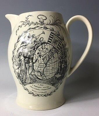 Historical Mottahedeh Liverpool Jug Historic Charleston GEORGE WASHINGTON
