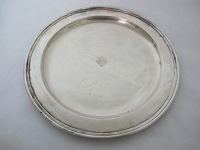 Gorgeous Early Tiffany And Co. Large Sterling Tray 13""