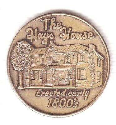 C2944     Newville,  Pa.    Bronze   Medal,   The Hays  House  1967