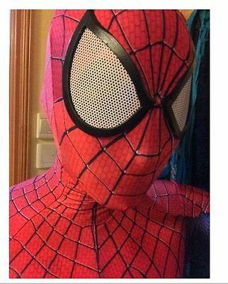 Amazing Spider-Man 2 Mask 3D Digital Printing Red & Black Hood Spiderman Hot New
