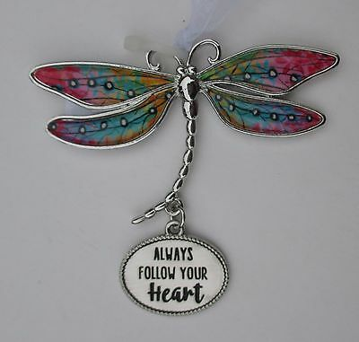 aa Always follow your heart DELIGHTFUL DRAGONFLY ORNAMENT Ganz