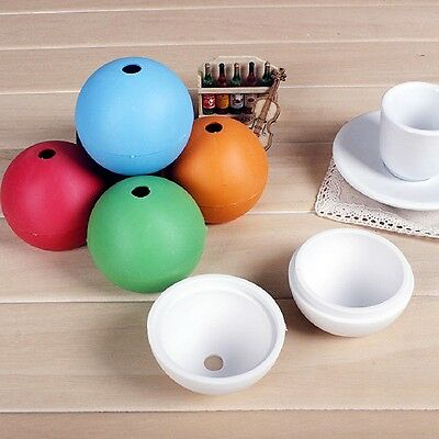 Ice Ball Whiskey Spherical Mold Large Orbs Round Cube Tray